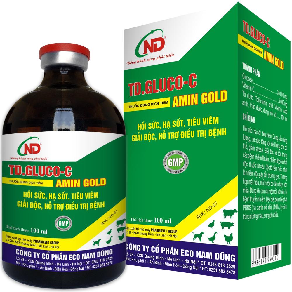 TD.GLUCO-C AMIN GOLD